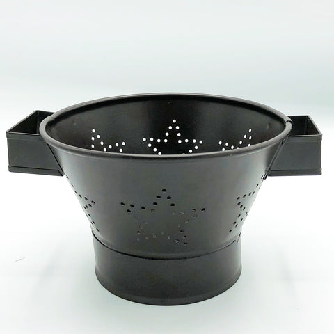 Star Small Primitive Decorative Colander