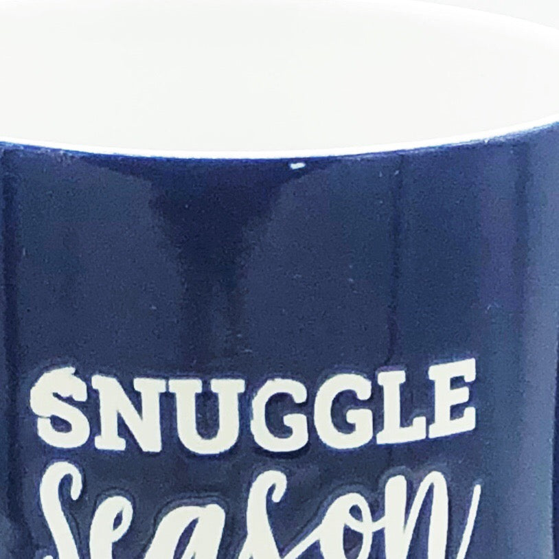 Set of Two Stackable Mugs - Snuggle Season and Cup of Cheers