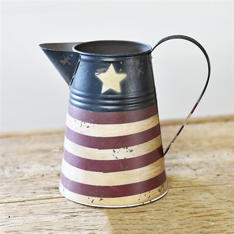 "Americana Stars & Stripes 8"" Pitcher"