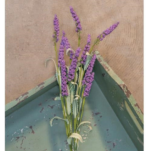 "Lavender Heather 20"" Faux Spray"