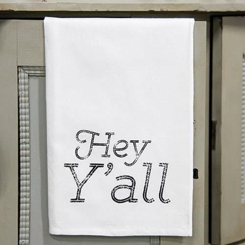 Hey Y'all Dish Towel