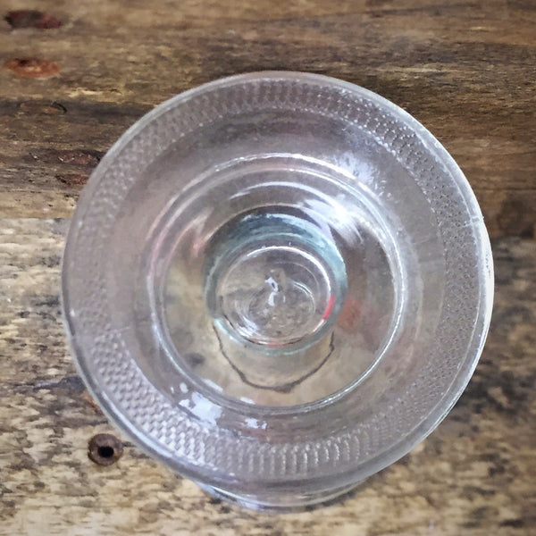 Clear Glass Footed Cordial Shot Glass