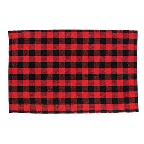 "Red Buffalo Check Door Mat 24"" x 36"""