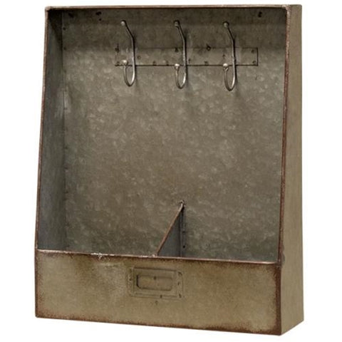 Rustic Galvanized Key Box