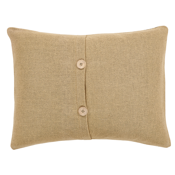 "Love You More Burlap Pillow 14"" x 18"""