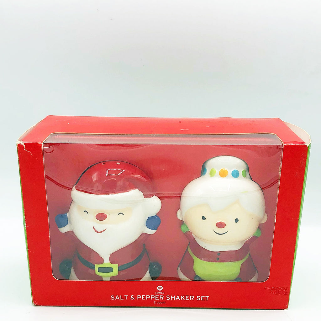 Santa and Mrs Claus Salt and Pepper Shakers Target