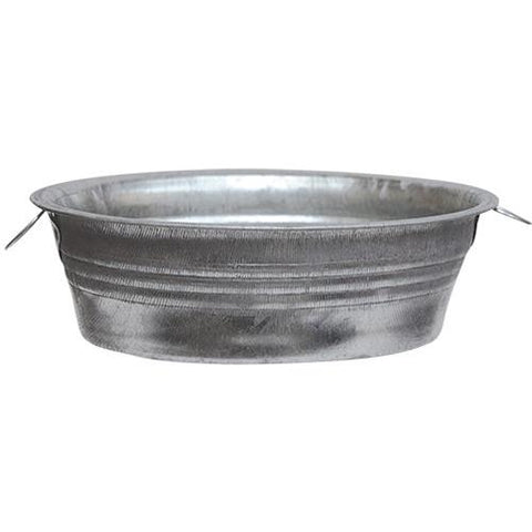 "Mini Galvanized Tub 5"" wide great for crafts & favors"