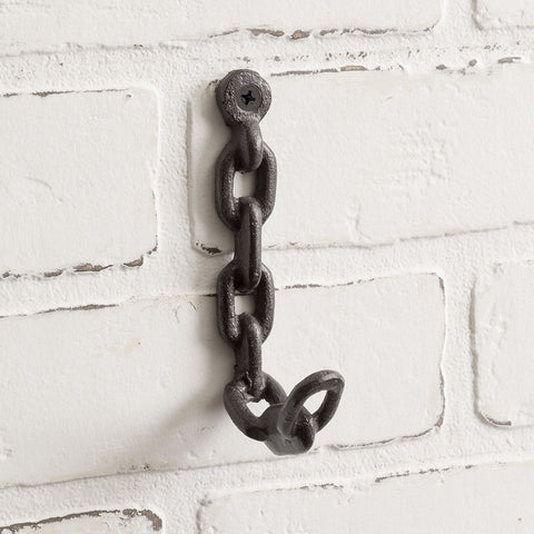 "Chain Link 5"" H Wall Hook"