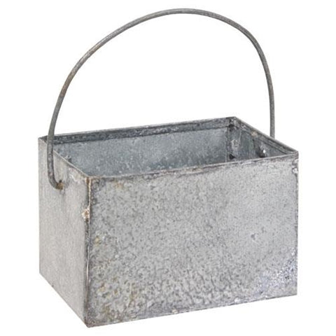 Washed Tin Mini Catch-All Caddy