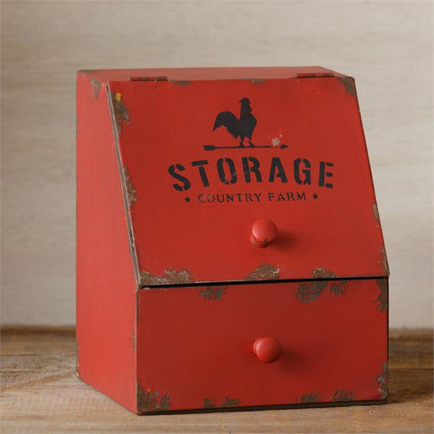 Red Country Farm Storage Bin