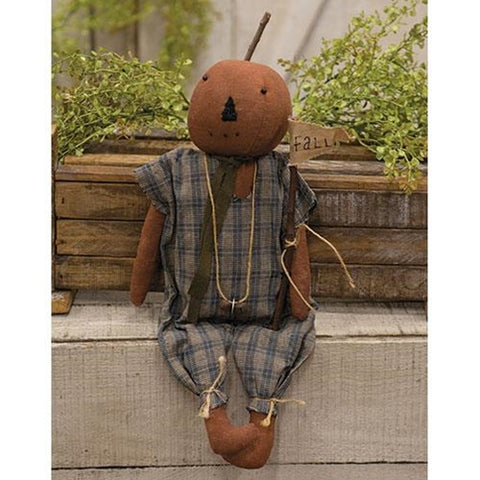 Happy Lewis Pumpkin Doll Figure