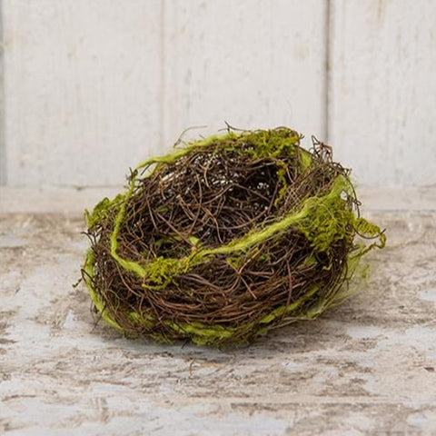 "Mossy Natural 5"" Bird Nest"