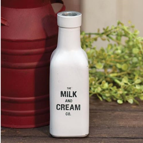 Milk & Cream Co. Glass Bottle