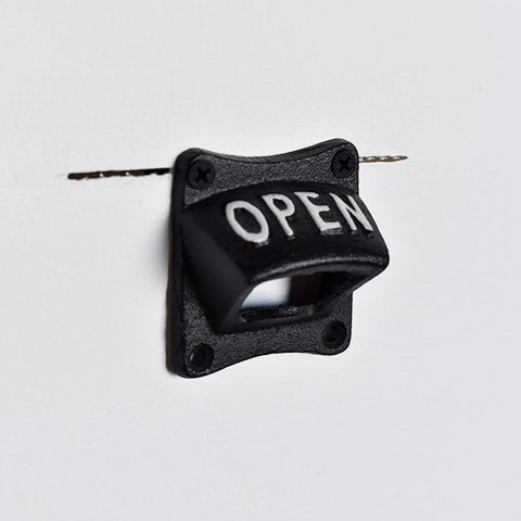 Wall Mounted OPEN Square Bottom Bottle Opener