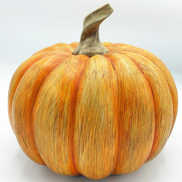 Orange Resin Fall Pumpkin