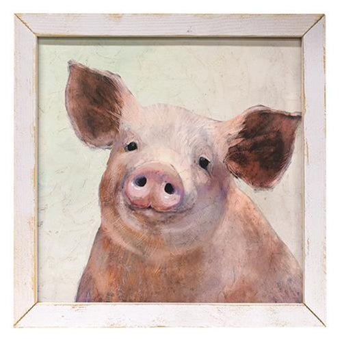 Scrapple the Pig Framed Print