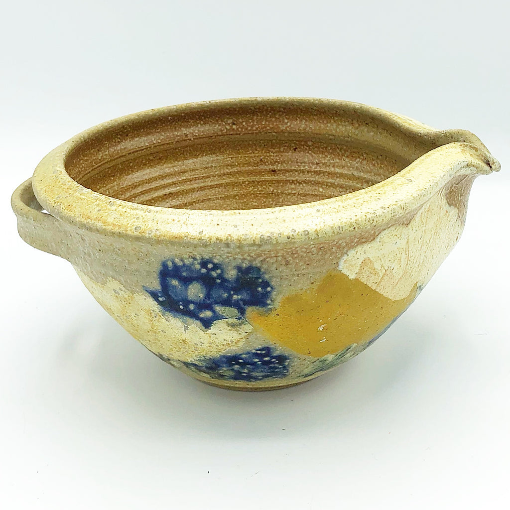 Handcrafted Small Pottery Pour Bowl