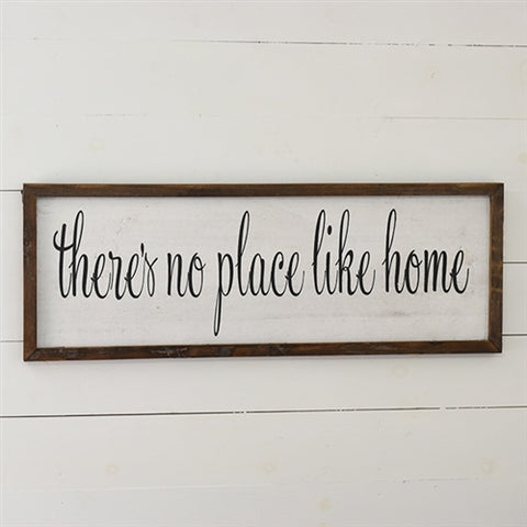 "Farmhouse 36"" Sign - There's No Place Like Home"