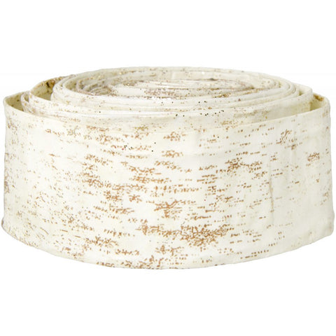 "Paper Birch Ribbon - 5 yards x 1.5"" wide"