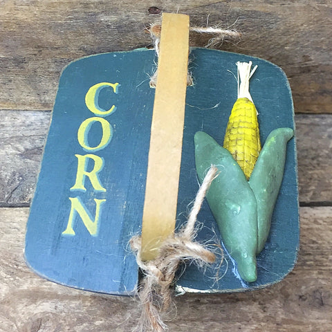 Corn Lidded Mini Basket