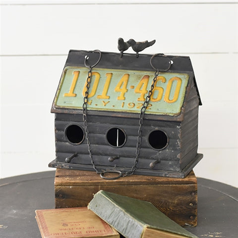 New York Tin Birdhouse