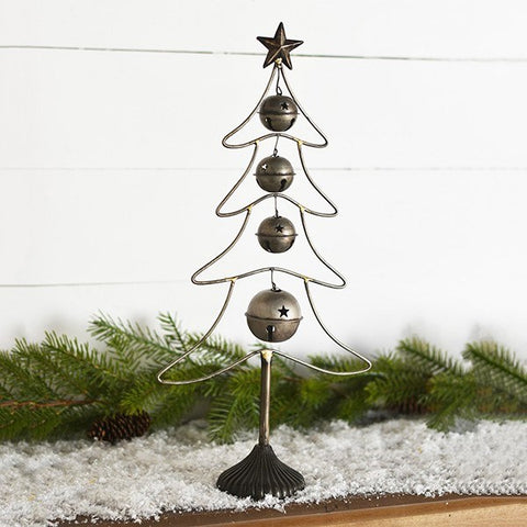 "Jingle Bell Silhouette 18"" Tree"