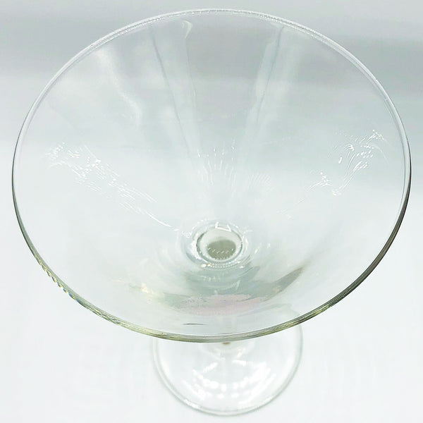Pink Kiss Lips Martini Glass