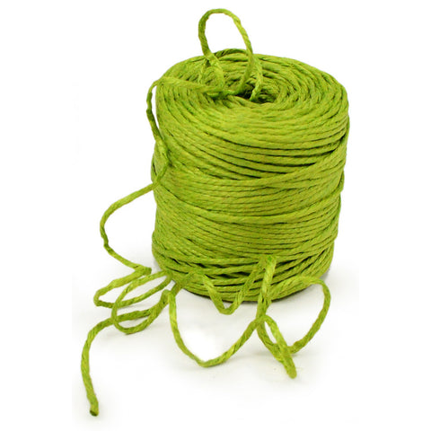 Natural Apple Green Jute Rope / Twine - 75 Yards