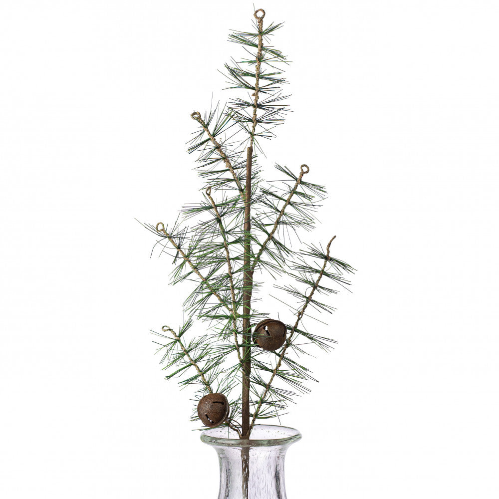 "Pine Jingle Bell 23"" Spray"