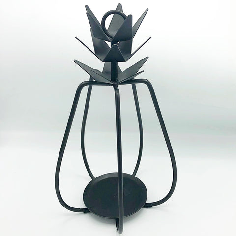 Pineapple Wrought Iron Hanging Candle Holder