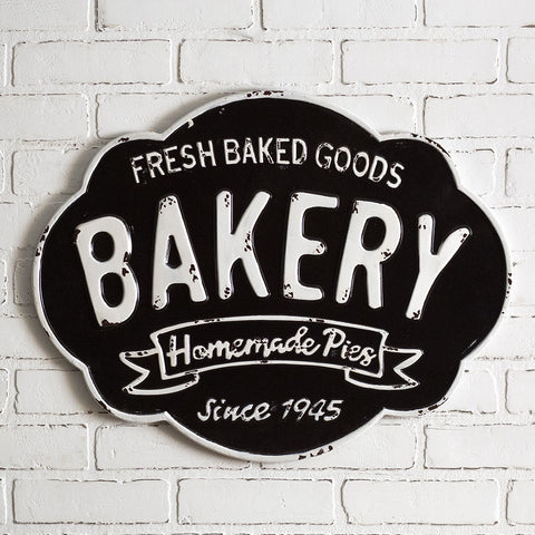 Retro-style Bakery Sign - Fresh Baked Goods Homemade Pies Since 1945