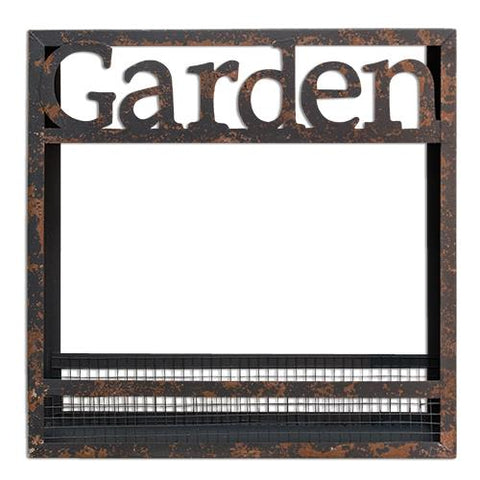 Distressed Garden Metal Flower Box