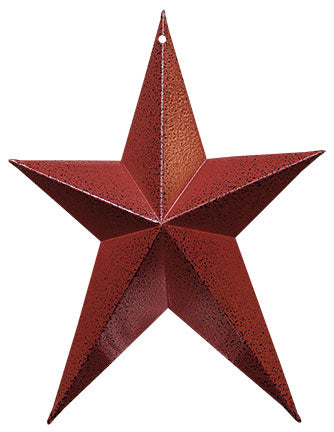 "Burgundy Whimsical 8"" Star"