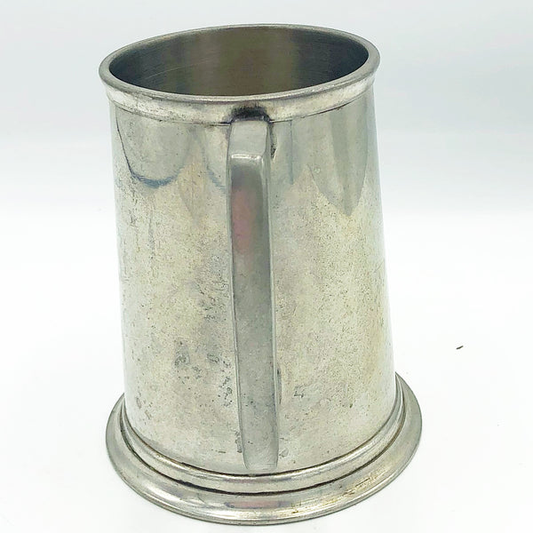 English Pewter Tankard Made in Sheffield England