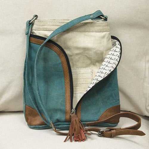 Cross City Ocean Crossbody Bag
