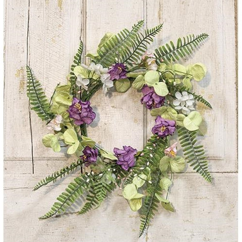 "Lakeside Mix Wildflower 16"" Pastel Wreath"