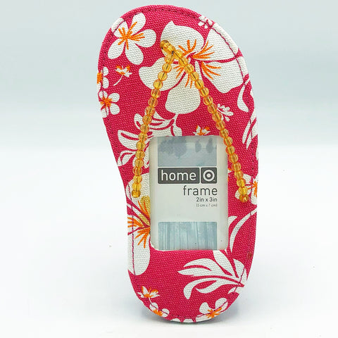 Hibiscus Flip Flop Photo Frame Target Home