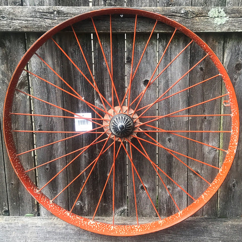 Rustic Style Reproduction Wagon Wheel 23""