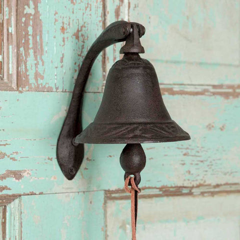 Beckett Heavy Dinner Bell with Bracket