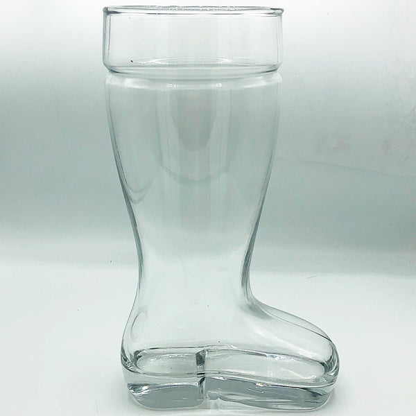 Large Santa Glass Welly Boot Vase
