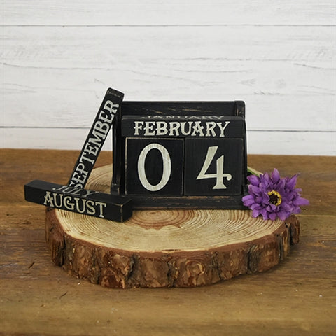 Farmhouse Perpetual Wood Calendar