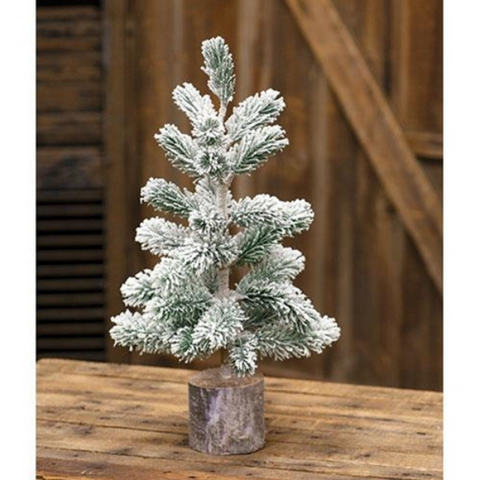 "Snowden 12"" Faux Pine Tree"