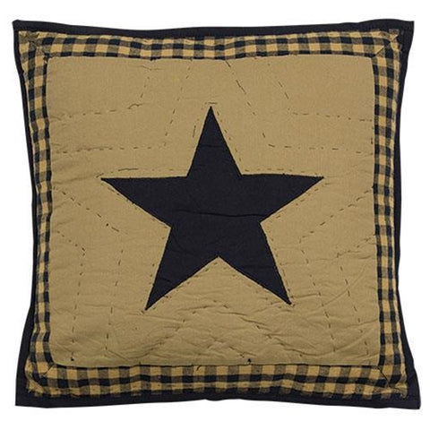 "Delaware Star Quilt 16"" Pillow"