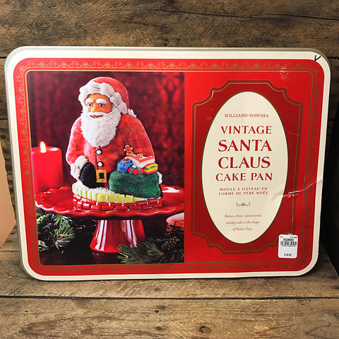 Williams Sonoma Vintage Santa Claus Cake Pan - Nordic Ware