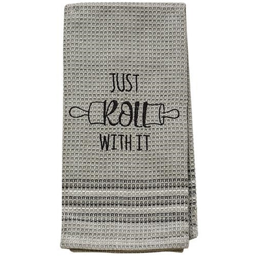 Just Roll With It - Baking Themed Dish Towel