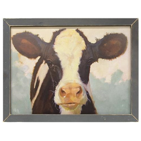 Nessie the Cow Framed Print