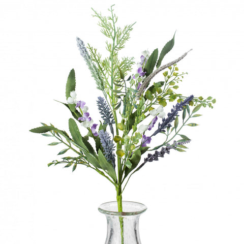 "Dusty Lavender and Astilbe 20"" Flower Spray"