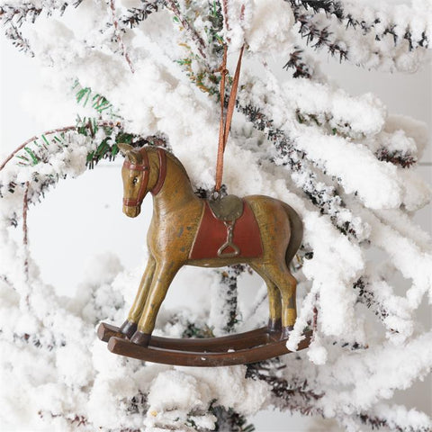 Nostalgic Rocking Horse Ornament