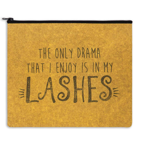 The Only Drama I Enjoy is in My Lashes Travel Bag