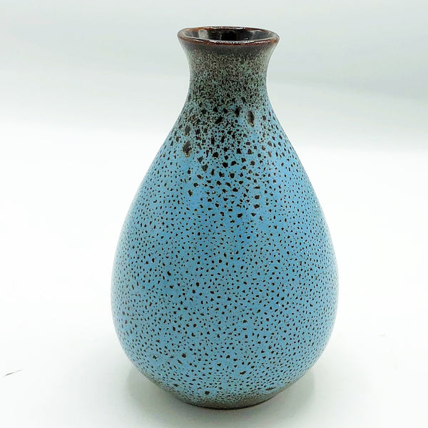 Blue and Cocoa Mini Vase